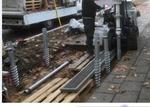 Bau einer Wurzelschutzbrücke
