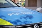 Polizei Motorhaube