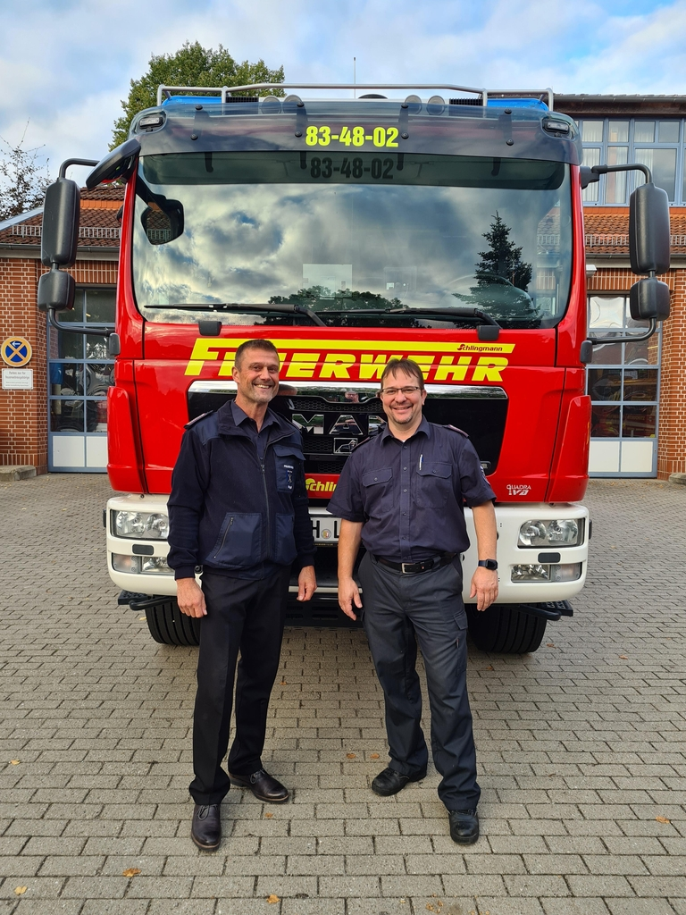 Jörg Franck und Björn Schlieter