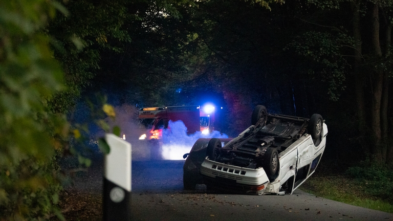 Verkehrsunfall Übung