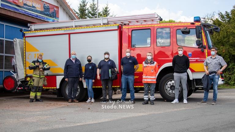 Impfaktion für Feuerwehren