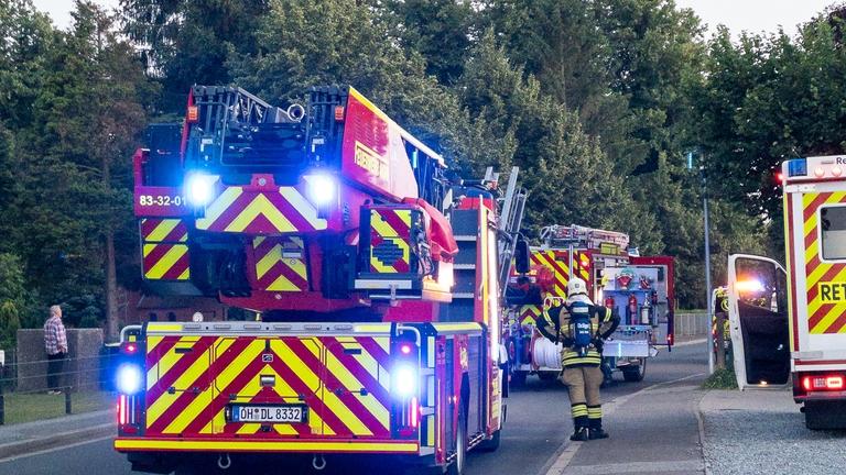 Feuerwehreinsatz in Kleingartenanlage Bareneck