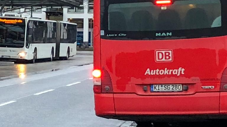 Bus der Autokraft am ZOB Lübeck