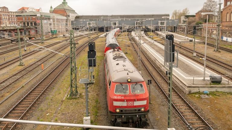 Zug Richtung Ostsee