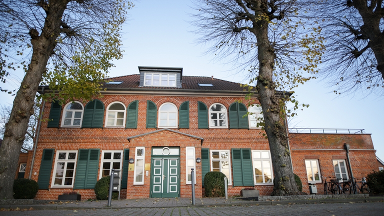 Villa Jebsen, Bücherei