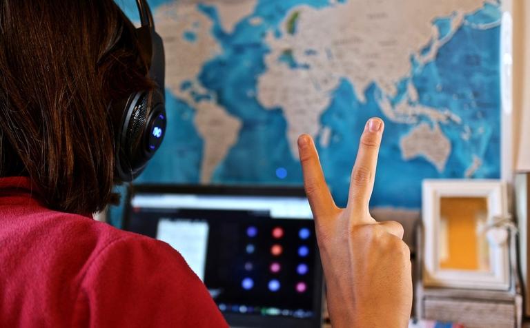 digitales lernen, Videokonferenz Schule