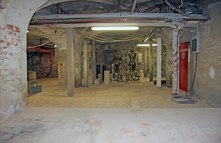 Behn- und Drägerhaus, Gewölbe im Keller