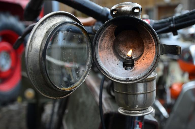 Beleuchtung am Fahrrad