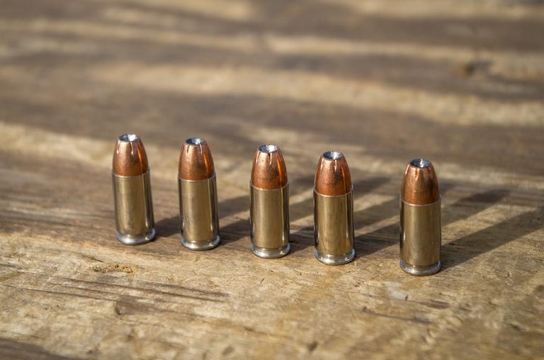Munition für Waffe