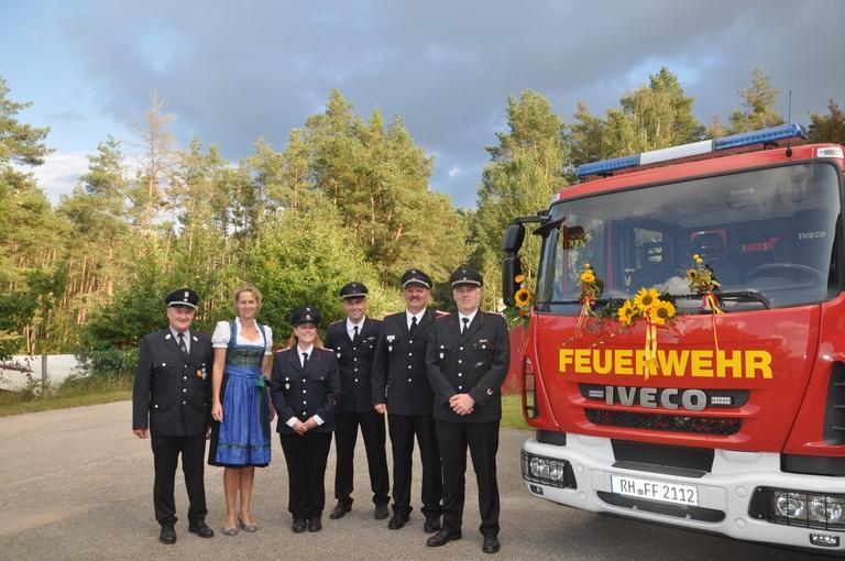 TSF-W Übergabe in Bechhofen