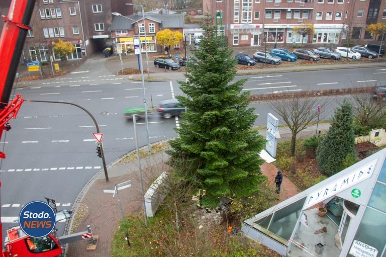 Weihnachtsbaum Stockelsdorf 2020
