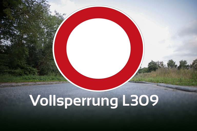 Vollsperrung L309