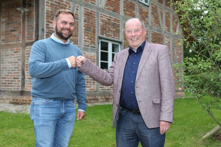 Manfred Rath und Dr. med. Tim-Hendric Hümme