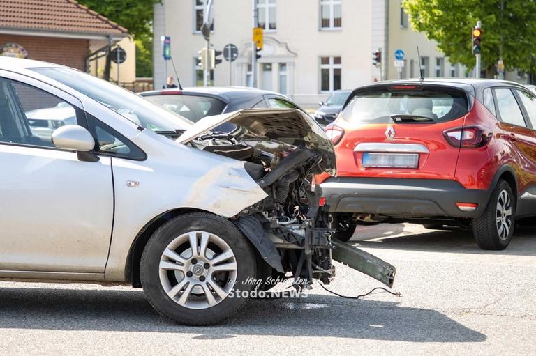 Unfall auf Famila Parkplatz