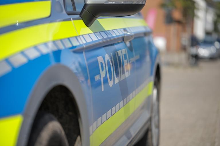 Polizei Tür