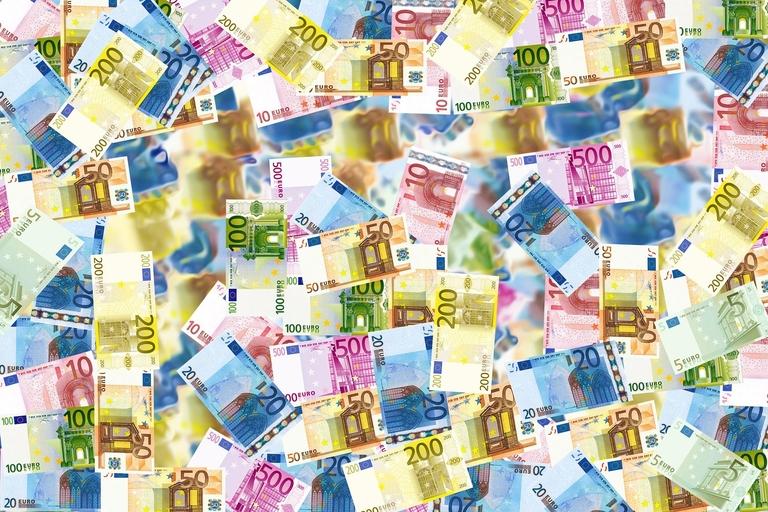 verschiedene Euro-Scheine