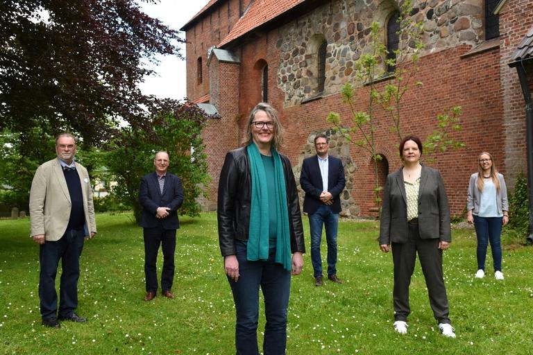 Harald Werner, Peter Barz, Katharina Gralla, Matthias Hieber, Kristina Warnemünde, Julia Prange