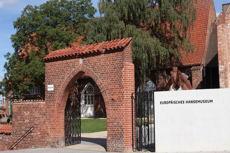 Seiteneingang Europäisches Hansemuseum Lübeck