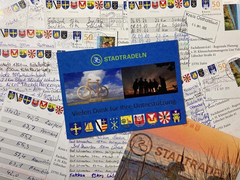 Postkartenaktion zum STADTRADLEN