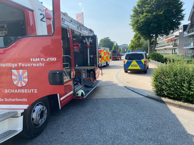 FF Scharbeutz, Feuer im Strandimbiss